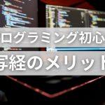 プログラミング初心者 写経のメリット